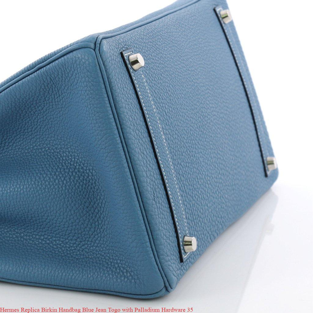 28a5ede83e41 Hermes Replica Birkin Handbag Blue Jean Togo with Palladium Hardware 35 –  Hermes Replica – Purchase New Hermes Belt Replica Bags