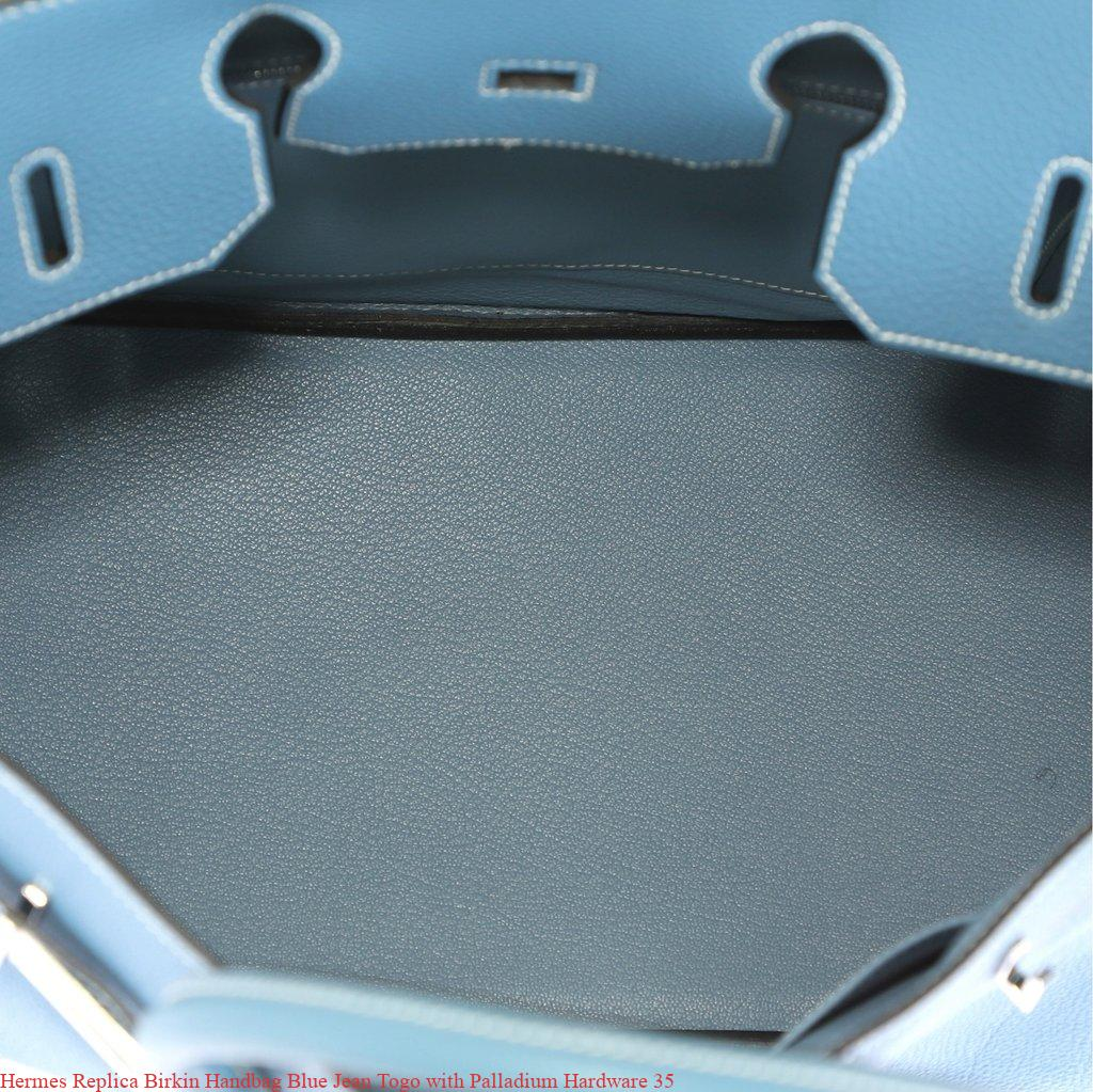 49c7c1b29def Hermes Replica Birkin Handbag Blue Jean Togo with Palladium Hardware 35 –  Hermes Replica – Purchase New Hermes Belt Replica Bags